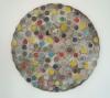 "<br>14"" diameter  Clay, glaze, paint"