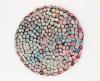 "<br>10"" diameter. Clay, glaze, paint."