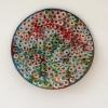<br>7.5 inch (19cm) diameter. Clay, Glaze, Paint.</br>